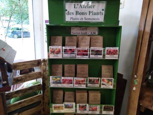 atelier bon plant graine caden