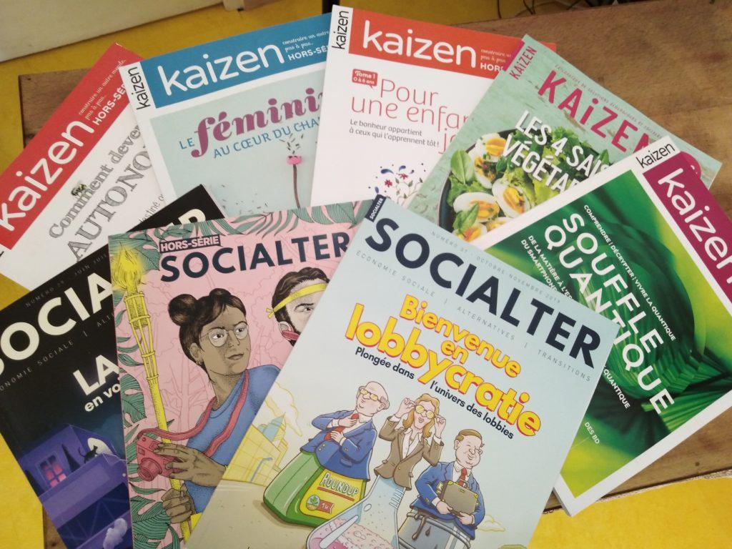 revue kaizen socialter chemin eveil
